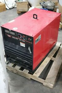 Lincoln Electric Idealarc Dc 1000 Sub Arc Welder Working