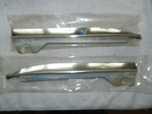 1963 Ford Galaxie 500 Chrome Lower Front Grill Cowl Trim Set Left Right