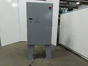 Hoffman A603610lp Free Standing Electrical Enclosure 60x36x10 W 30a Disconnect