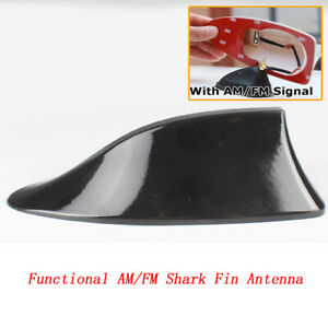 Functional Am Fm Shark Fin Antenna Replacement Sharkfin Style For Mazda 6