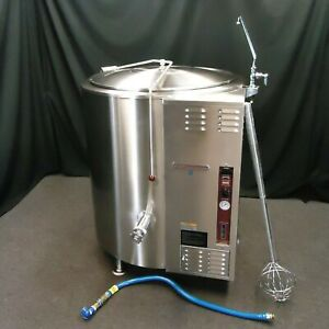 Southbend 100 Gallon Gas Steam Jacketed Kettle Kslg 100 Excellent Plus 40 60