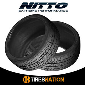 2 New Nitto Motivo 245 45 17 99w Ultra High Performance Tire