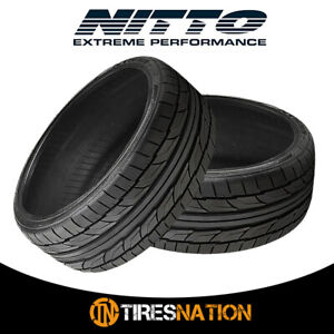2 New Nitto Nt555 G2 255 45 18 103w Ultra high Performance Sport Tire