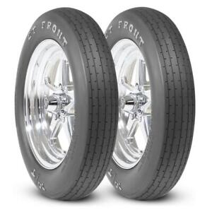 2 Mickey Thompson Et Front Tires 26x4 0 15 Drag Racing Runner Pair 26x4 15