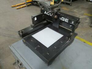 Acu gage Xy Cnc Table 22x24 In T169417