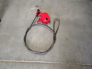 Renfroe Fr 1 Ton Plate Lifting Clamp W 1 2 X 10 Sling