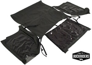 Fastback Bowless Frameless Soft Top And Tinted Window 1997 2006 Jeep Wrangler