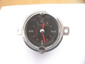 1952 1953 Ford Wind Up Working Clock