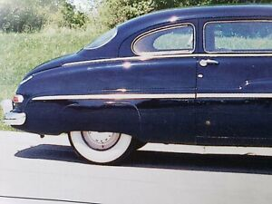 1949 50 Mercury Fender Skirts New Steel All Hardware