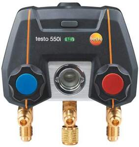 Testo 550i Digital Manifold Without Probes Or Case part Number 0564 2550 01