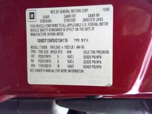Automatic Transmission Awd Fits 96 97 Astro 3395372