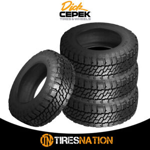 4 New Dick Cepek Trail Country Exp Lt295 70r17 10 Tires