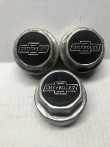1921 1922 Chevrolet Hubcaps New Old Stock