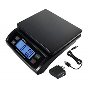 66 Lb 30 Kg Digital Postal Scale Shipping Packages Parcel Weighing Balance With