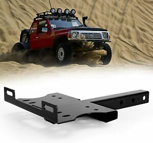 Winch Cradle Mount Plate 2 Receiver Hitch Winch Mounting Bracket For Atv Utv