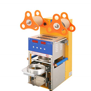 Cup Sealing Machine For Bubble Tea Automatic Plastic Cup Sealer 400 600cups hr