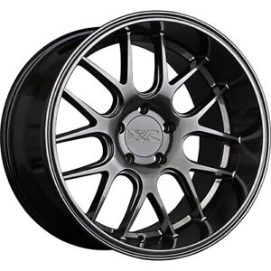 4 Staggered 19x9 19x10 5 Xxr 530d Chromium Black 5x4 5 20 20 Wheels Rims