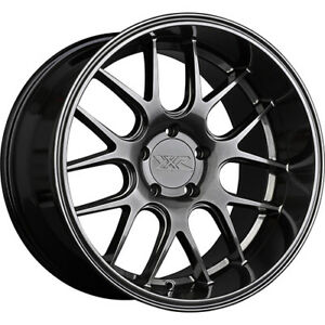 4 Staggered 19x9 19x10 5 Xxr 530d Chromium Black 5x4 5 35 20 Wheels Rims