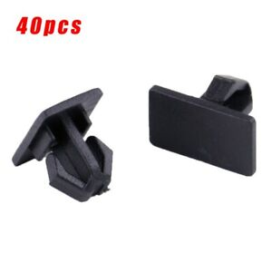 300 Panel Clips Magnum Chrysler Black Parts Accessories Anti corrosion