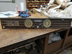 1936 1937 Cadillac Dash Assembly Missing Headlight Ignition And Starter Switchs