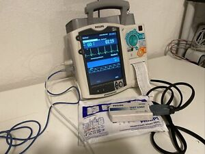 Philips Heartstart Mrx Aed Defibrillator monitor With Pacer Ecg And Spo2 Ready
