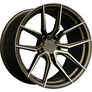 4 19x8 5 Bronze Wheel Xxr 559 5x4 5 20