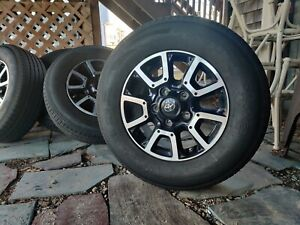 Toyota Tundra Trd Pro 18 Oem Factory Wheels rims With Tires Set Of 4