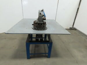 Rotex 18a 20w s Manual Hand Operated Turret Punch Sheetmetal Hole Punching