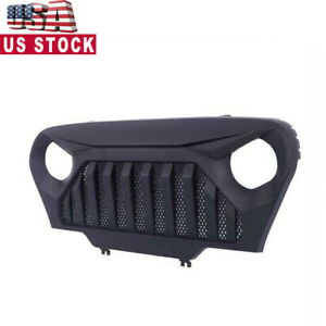 Abs Plastic Car Front Bumper Grille For Jeep Wrangler Tj 1997 2006 Coating