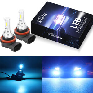 H11 Led Headlight Super Bright Bulbs Kit 8000k Blue 330000lm High low Beam