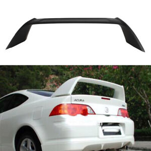02 06 For Acura Rsx Dc5 Type r Tr Style Trunk Spoiler Unpainted Abs Matte Black
