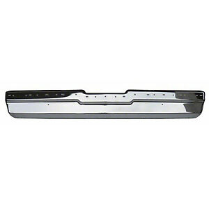 Goodmark Chrome Rear Bumper Front Bar For 1981 1987 Buick Regal
