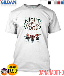 Popular New Trend 2021 Night In The Woods Zipped Gildan T shirt Size S To 2xl