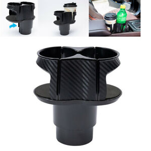 Car Center Console Drink Dual Cup Holder Storage Box For Interior Accessories