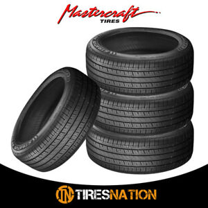 4 New Mastercraft Stratus As 195 65r15 91h Tires