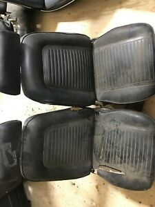 1968 1969 Camaro Firebird Bucket Seats Oem Nice Pair