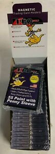 Lot Of 25 Pro mold 55pt Magnetic One Touch Card Holder Holds Sleeved Card Mh55s