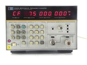 Agilent Hp Keysight 5343a Cw Microwave Frequency Counter 46 Ghz
