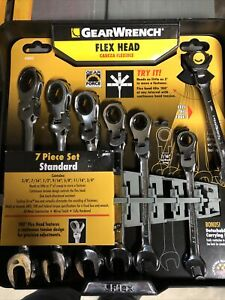 Gearwrench Sae Flex Head Ratcheting Wrench Set