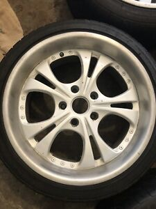 2 Piece Rims With Tires