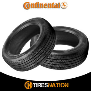 2 New Continental Procontact Tx 215 60 17 96h Grand Touring All season Tire