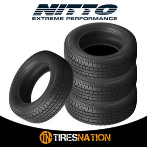 4 New Nitto Ntsn2 Winter 235 65r17 104s Tires