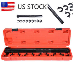 Auto Car Truck Inner Tie Rod Tool Installer Remover Crews Foot Wrench Kit Set