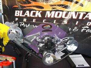 Bbc Big Block Chevy 2 Belt Drive For Electric Water Pump