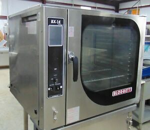 Blodgett Bx14g aa Natural Gas Single Full Size Combi Oven