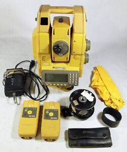 Topcon Gpt 8205a 5 Robotic Reflectorless Total Station W Carrying Case Acc