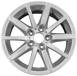 Oem Reconditioned 17x8 5 Alloy Wheel Silver Metallic Full Face Painted 560 71319