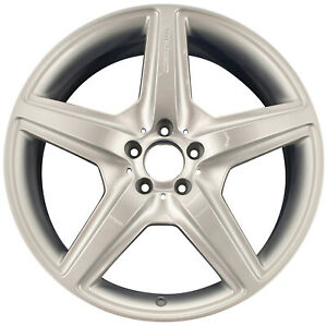 Oem Recon 20x9 5 Rear Alloy Wheel Bright Silver Full Face Painted 560 85029