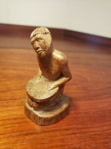Nice Old South East Asian Carved Wood Figurine