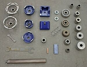 Ammco Hubbed Hubless Adapter Tooling For Brake Lathe 3000 4000 4100 Kit Set